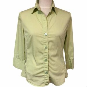 George stretch button up